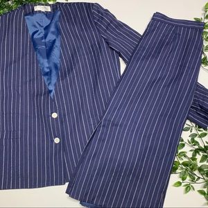 Dior Pin stripe Skirt Suit